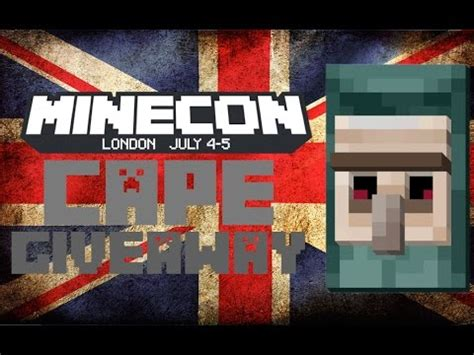 Free Minecon Cape Giveaway - minecon 2015 cape giveaway closed vidbb com music