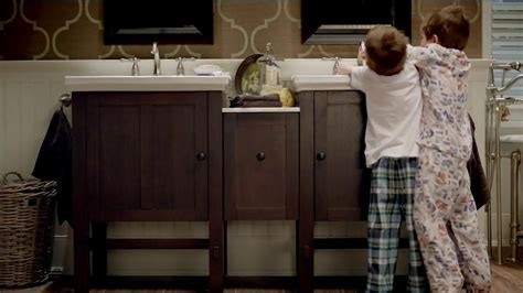 kohler commercial actress kohler tv commercial boys ispot tv
