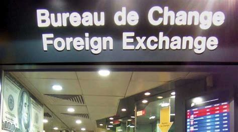 bureau de change denis pound sterling drops below at airports after uk