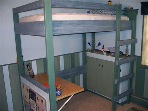 college loft bed plans bed plans diy blueprints