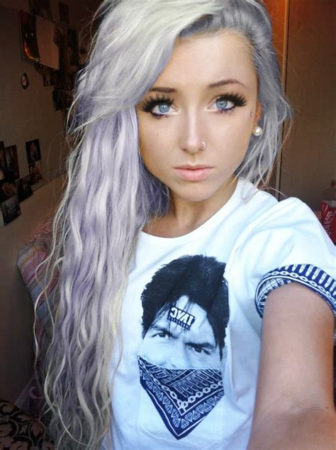 old japanese ladies purple hair 36 best images about chloe harwood on pinterest perfect