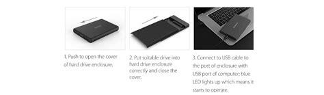 Orico 2189u3 Pro Bk Hardisk Storage orico 2189u3 2 5 inch usb3 0 drive enclosure black