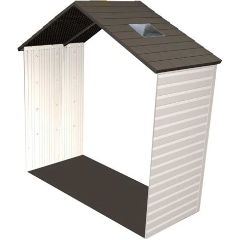 Shed Accessories lifetime shed accessories 60142 2 5 ft extension kit for 8 ft sheds