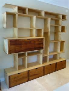 Floating Shelves Bookcase Custom Made Furniture By Nathaniel Grey
