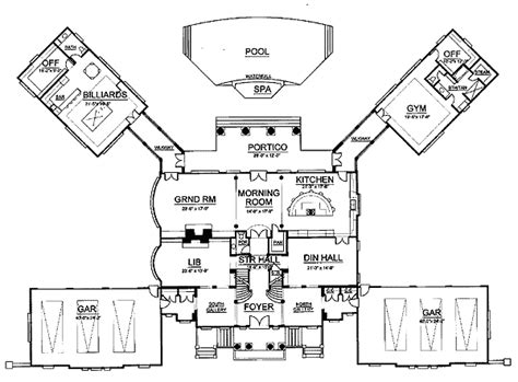 gilded age mansions floor plans gilded age mansion 12202jl architectural designs