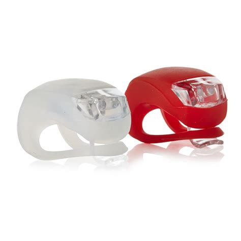 Wilko Led Silicon Bike Lights Front And Rear At Wilko Com Wilkinson Lights