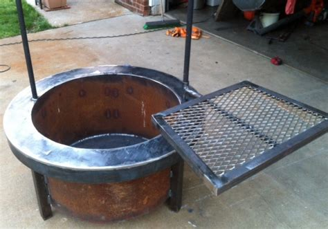 easy diy pit with grill build a pit with cooking grill in your backyard diy