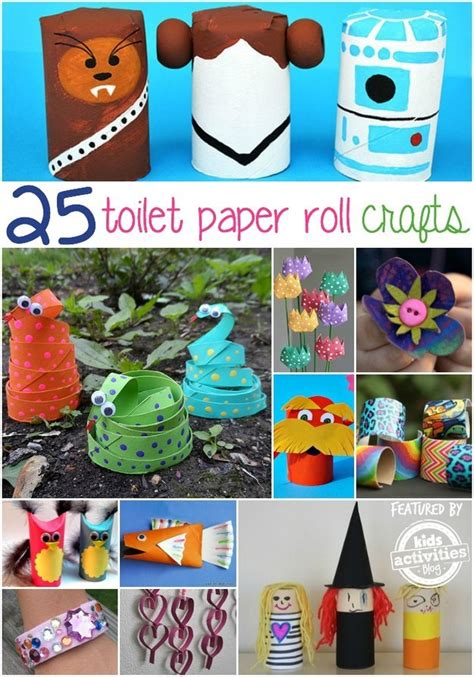 What Can I Make With Toilet Paper Rolls - 25 toilet paper roll crafts