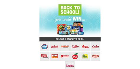 Kroger Sweepstakes 2017 - kroger back to school sweepstakes