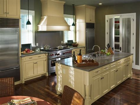 one wall kitchen with island designs one wall kitchen layout with island finishing touch