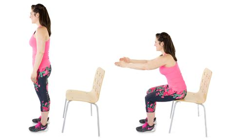Chair Squats by Get It Right Get It Tight Chair Squats