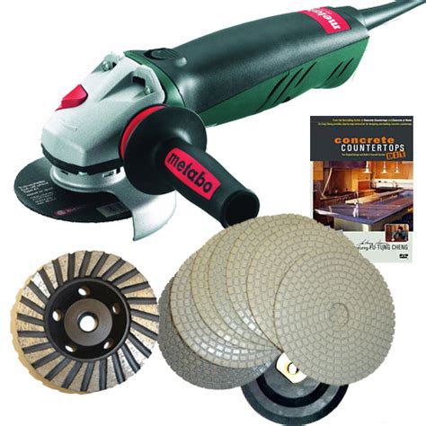 Concrete Countertop Grinder Polishers by Concrete Countertop Polishing Package