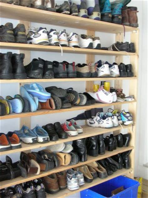 Garage Cabinets For Shoes The 25 Best Shoe Racks Ideas On Diy Shoe