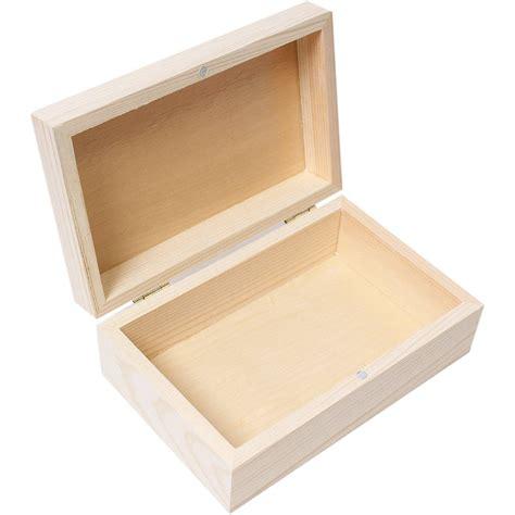 10 x 5 x 5 box wooden pine jewellery box 14 x 5 x 9 cm hobbycraft