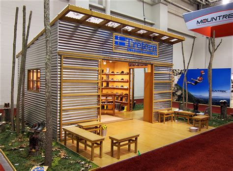 trade show booth design utah tretorn trade show booth on behance