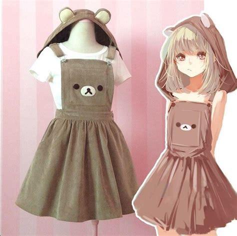 Rilakuma Kid Jaket S 2016 so s kawaii rilakkuma suspender dress embroidery all season