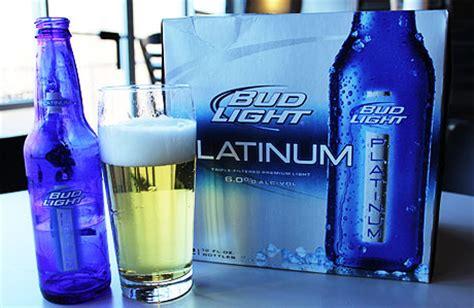 Bud Light Platinum Percentage by Anheuser Busch Cheats Customers