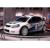 The Newest Suzuki Rally Car  New SX4 WRC