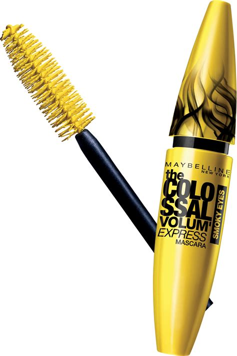 Mascara Maybelline Volum Express maybelline new york the colossal volum express smoky