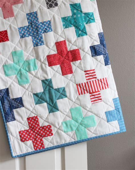 Sew Simple Quilt by Plus Quilt In And Blue Cluck Cluck Sew