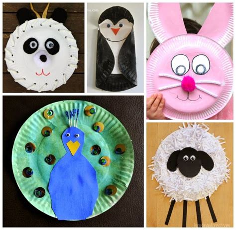 How To Make Animal Mask With Paper Plate - learn with play at home 20 fabulous paper plate animal crafts