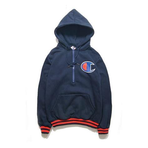 navy chion hoodie fashion ql