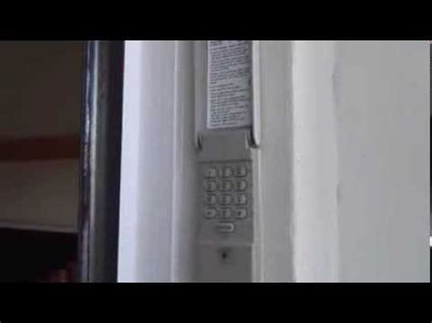 program  craftsman garage door keypad youtube