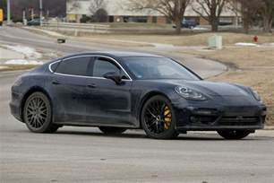 Pictures Of A Porsche Porsche Panamera 971 Review