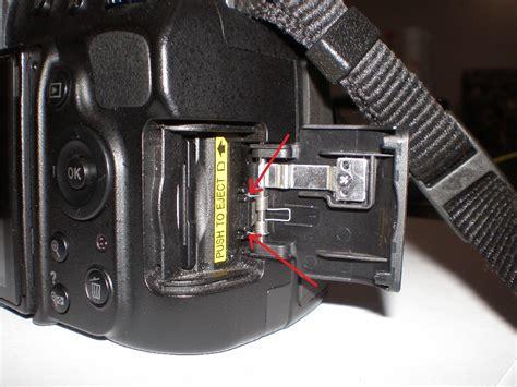 Memory Nikon D3000 Nikon D5100 D3100 Sd Memory Card Door Replacement Ifixit