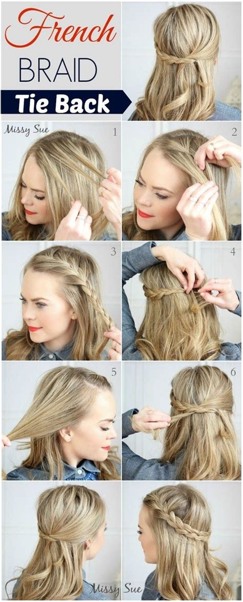 simple and cute ways to style braids 20 cute and easy braided hairstyle tutorials