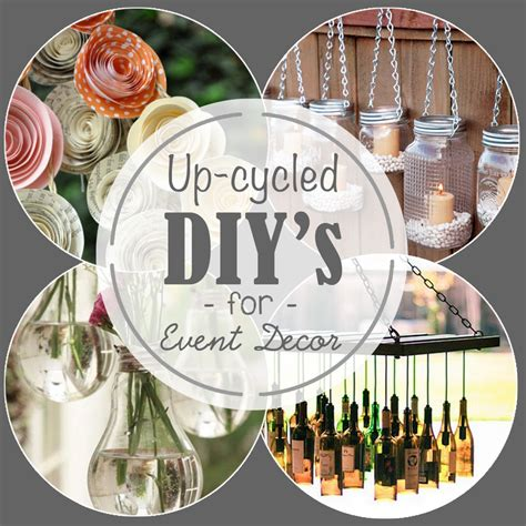 upcycling events 5 upcycling diy ideas for event decor venue logic