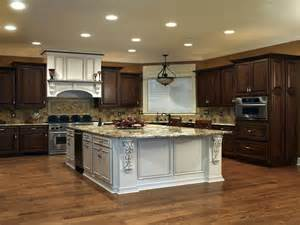 Kitchens With Different Colored Cabinets Kitchen Cabinets Kitchen Design Bathroom Vanities Sunday Kitchen And Bath Kitchen And