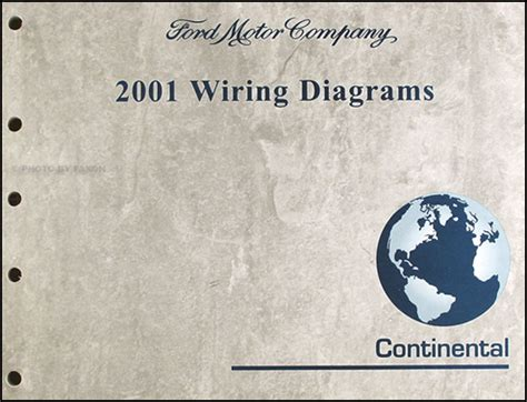 2001 Lincoln Continental Wiring Diagram Manual Original