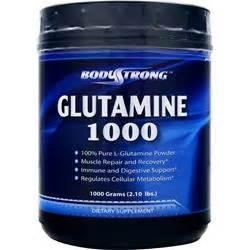 Glutamine Sr 1000 Grams bodystrong glutamine on sale at allstarhealth