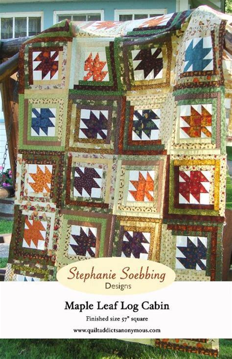 Maple Leaf Cabins by Quilting Blogs What Are Quilters Blogging About Today