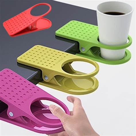 holder clip creative table desk cup holder clip drink clip coffee