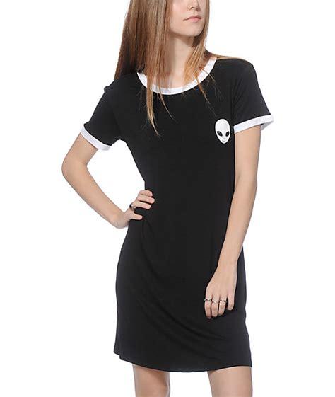 Ringer T Shirt Dress lunachix erin black ringer t shirt dress