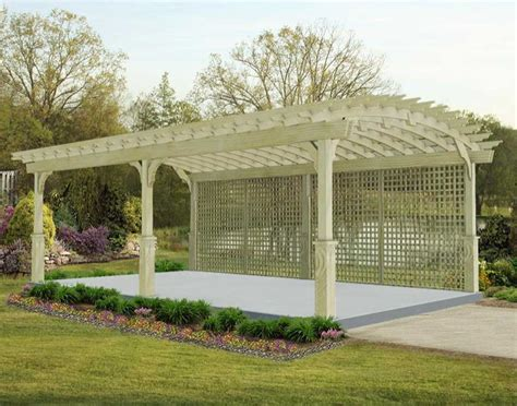 Backyard Creations Deluxe Arched Garden Pergola Backyard Creations Deluxe Arched Garden Pergola 28