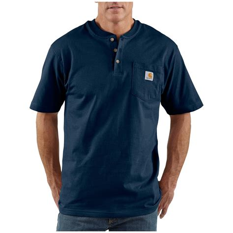Sleeve Pocketed T Shirt s carhartt 174 workwear sleeve pocket henley