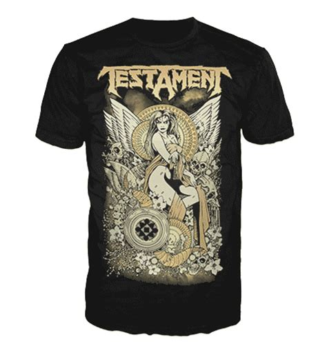 Tshirt Metal Jagal Original Merch by Testament Merchandise Clothing T Shirts Posters