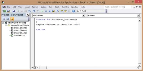 tutorial excel 2010 vba vba excel 2010 tutorial free
