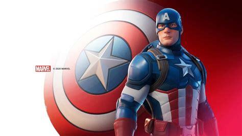 fortnite captain america skin   playstation