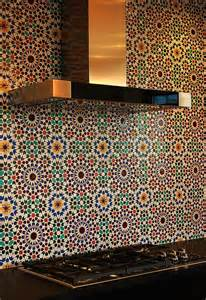 Moroccan Tile Kitchen Backsplash moroccan tiles