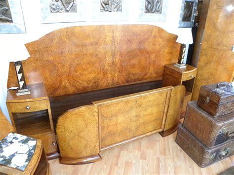 Fabulous art deco modernist amboyna burl queen bedroom suite sold items bedroom art deco