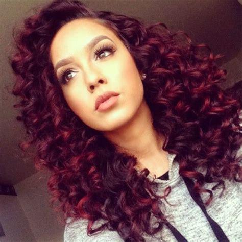 hair color for curly hair 20 curly hair colors for confident hairstylec