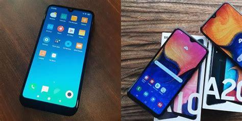 Redmi 7 Samsung A10 by Perbandingan Redmi 7 Vs Samsung Galaxy A10 Mana Smartphone Murah Terbaik Merdeka
