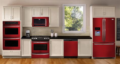 red appliances for kitchen image gallery red appliances