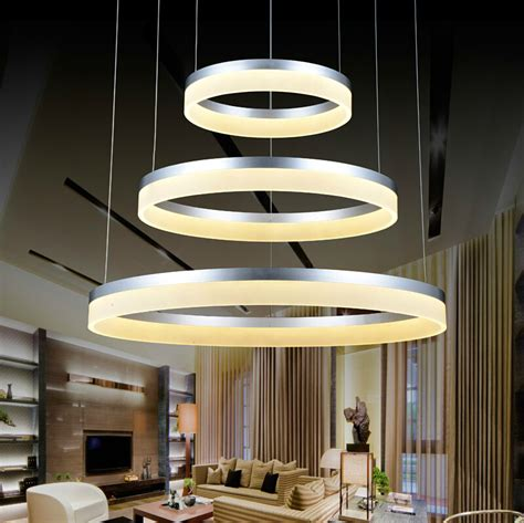 Indoor Home Lighting Fixtures Modern Pendant Lights For Dinning Room Bedroom Acrylic