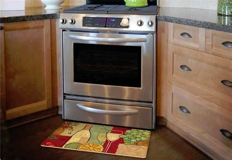 Decorative Kitchen Floor Mat For Sink Or Stove   Stain Proof.