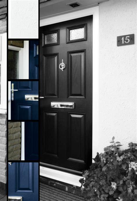 Upvc Black Front Doors Upvc Front Doors